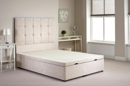 Super King Appian Foot End Opening Ottoman Bed