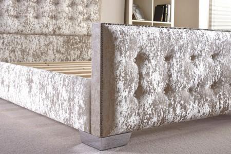 Upholstered Modern Design Bed Frame