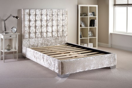 Copland Crush Velvet Bed Frame