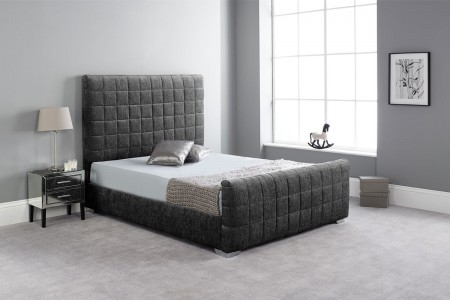 Hand Crafted Upholstery Bed Frame Set