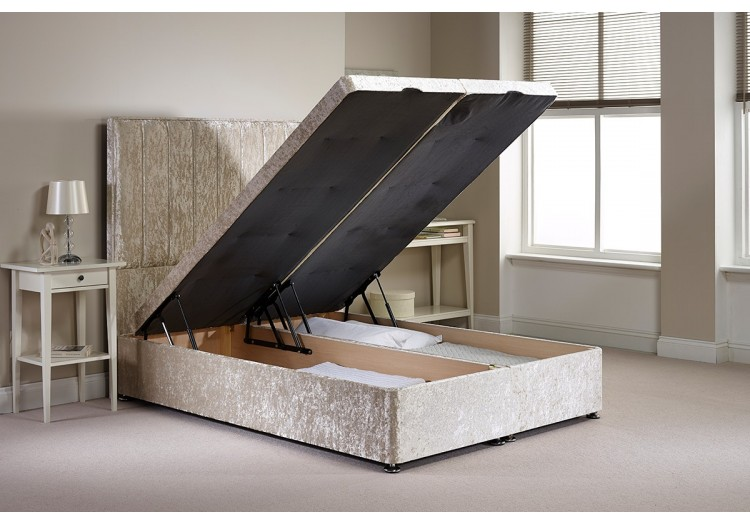 Super King Barnshaw Foot End Opening Ottoman Bed