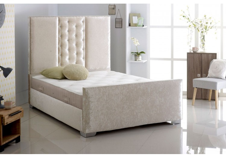 New Design Faux Leather Bed Frame