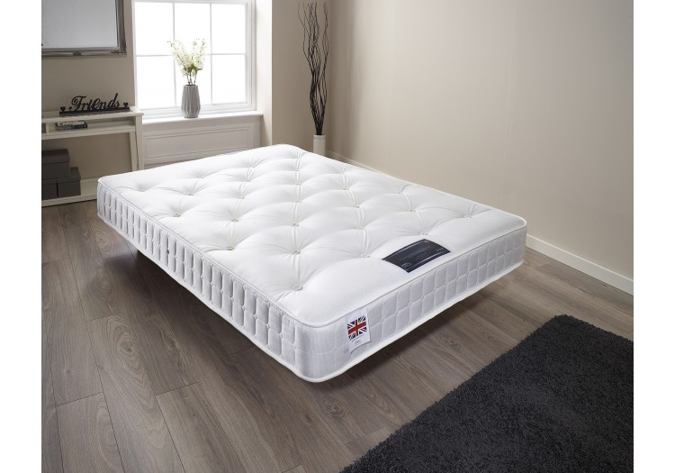"8"" Sprung Tufted Mattress"
