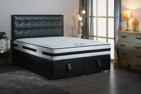 Single Bentley Foot End Opening Ottoman Bed