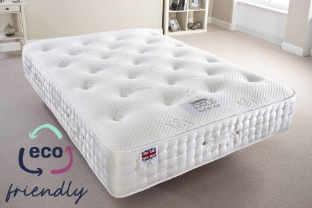 Silk 2500 Pocket Sprung Natural Filling Mattress