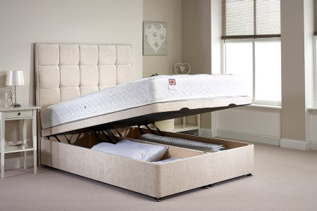 Appian Foot End Gas Lift Opening Ottoman Bed
