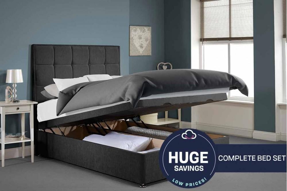 Appian Foot End Ottoman Full Bed Set