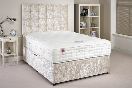 Double Divan Silk Pocket Sprung Bed