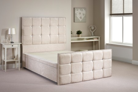 Single Aston Foot End Opening Ottoman Bed
