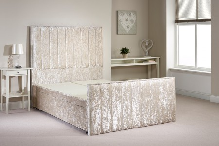 Peacehaven Foot End Gas Lift Opening Ottoman Bed