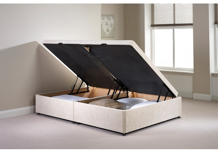 Small Single Millbank Side Opening Ottoman Bed
