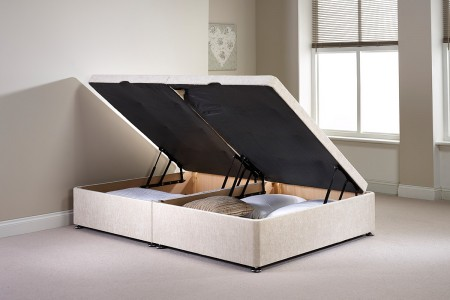 Small Double Millbank Side Opening Ottoman Bed
