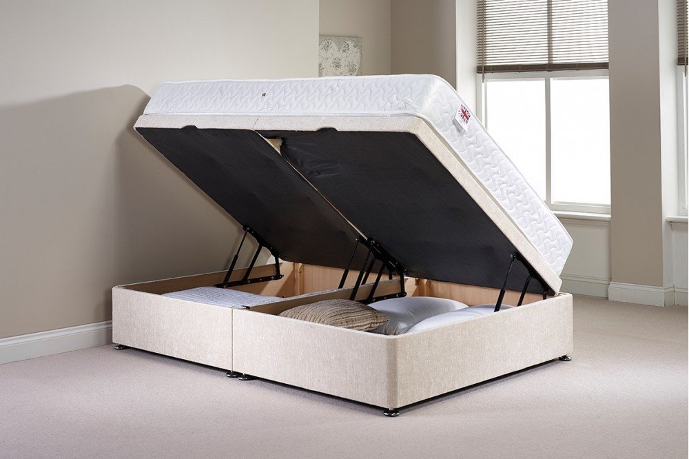 Brilliant Double Millbank Side Opening Ottoman Bed Gmtry Best Dining Table And Chair Ideas Images Gmtryco