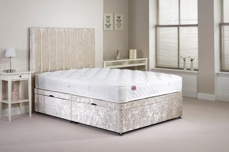 Single Harvard Side Opening Ottoman Bed