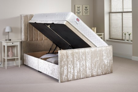 Buxley Gas Lift Side Opening Ottoman Bed