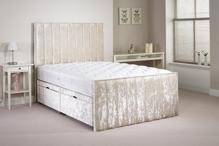 Small Double Buxley Side Opening Ottoman Bed