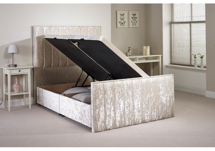 Double Buxley Side Opening Ottoman Bed