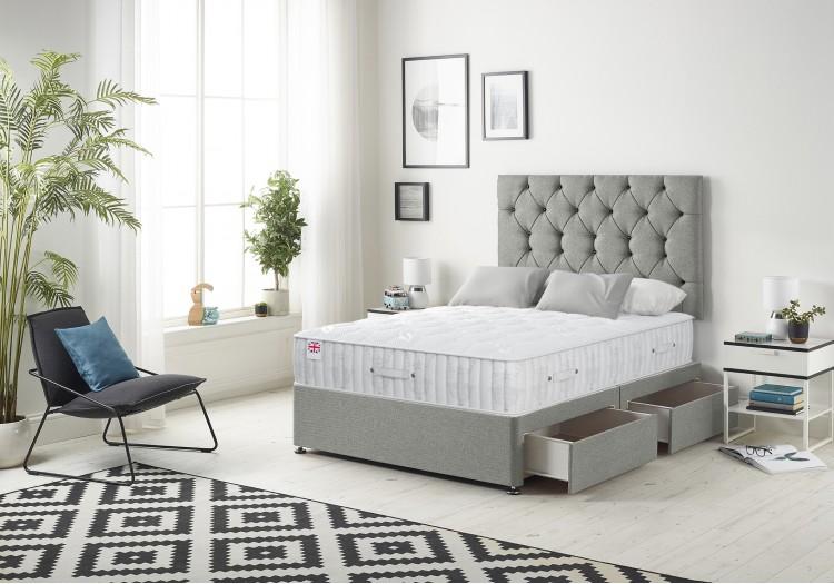 Premium Divan Bed with SOVERING Mattress