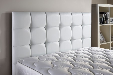 24in High Strut Diamond Headboard
