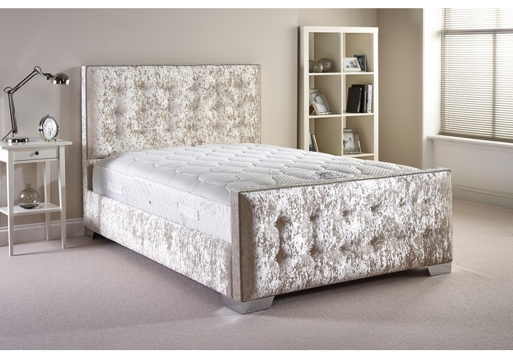 Delano Small Single Upholstered Bed