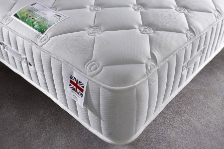 28cm Deep Pacific Quilted Pocket Sprung Memory Foam Mattress