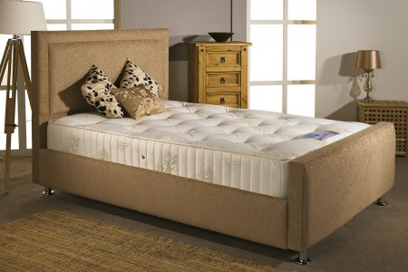 Calvin Small Single Upholstered Bed