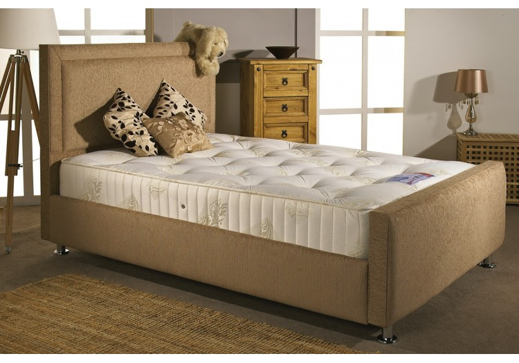 Calvin Small Double Upholstered Bed