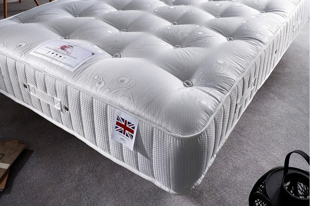 King Size 3000 Diamond Pocket Mattress With 1000 Pocket Spring