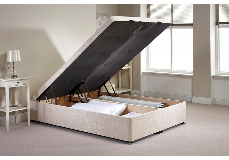 Small Double Richworth Foot End Opening Ottoman Bed
