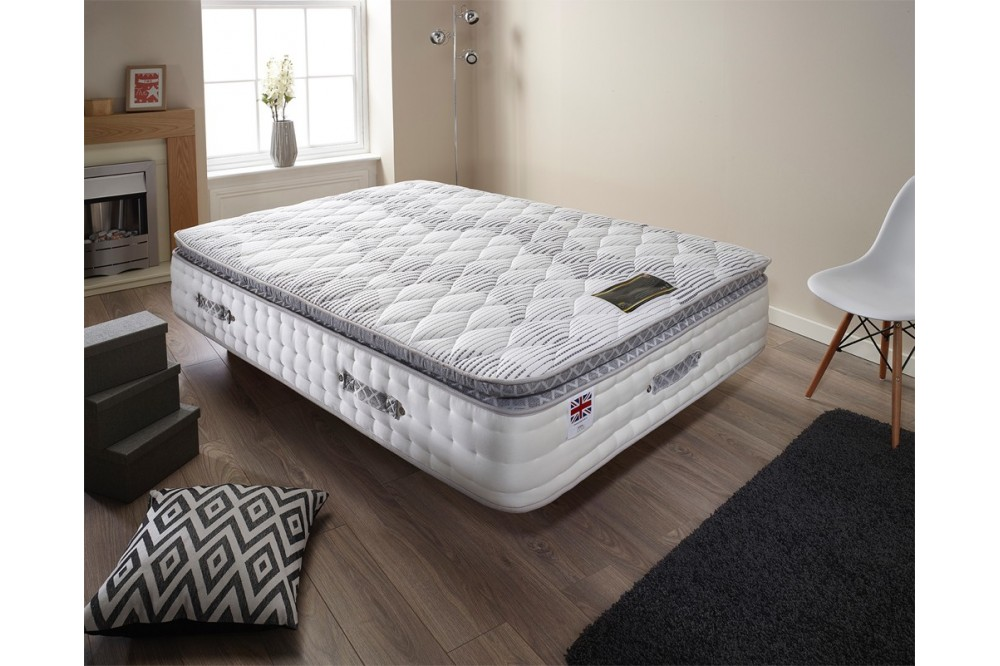 6000 Gold Pillowtop Pocket Spring Mattress