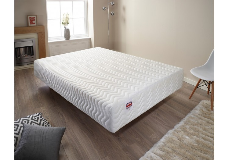 20cm Deep Memory Foam Quilted Vacuum Pack Mattress