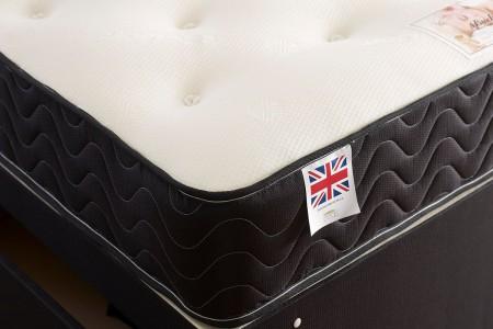 Topaz Sprung Memory Foam Divan bed