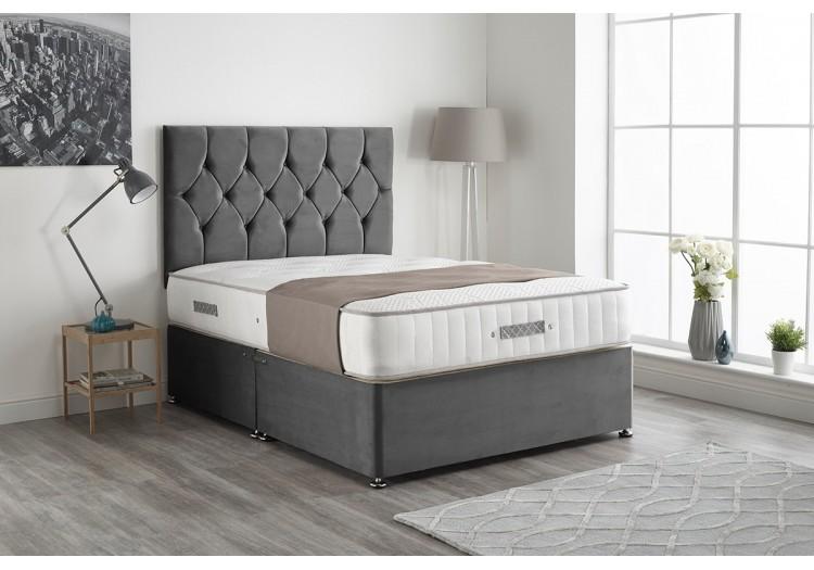 Ziggy Plush Divan Bed