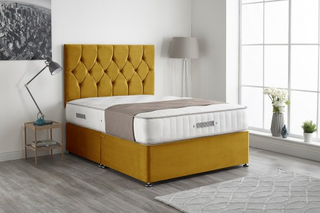 Ziggy Plush Divan Bed