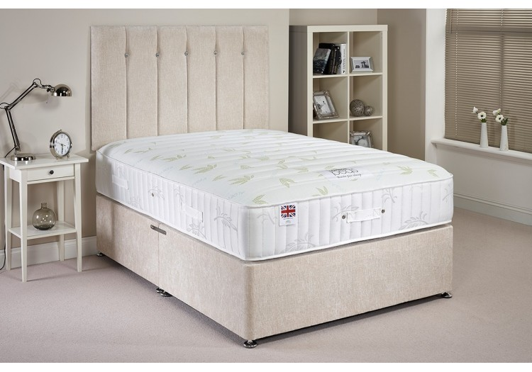 Aloe Vera Memory Foam Divan Bed Set