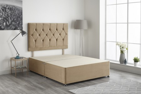 Ziggy Plush Fabric Divan Bed Base