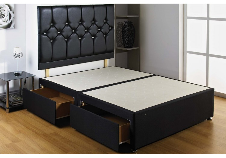 Black Diamond Divan Bed Base Only