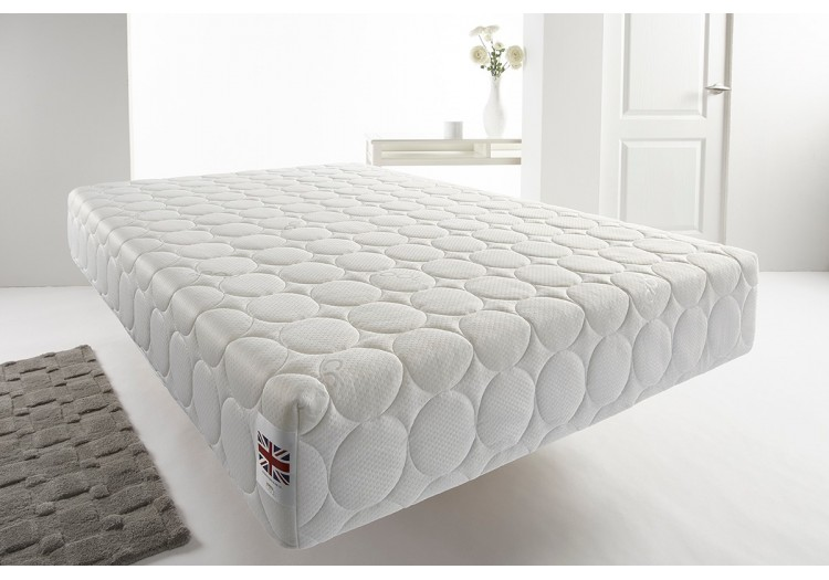 New Coolflex Quilted Memory Foam  Vacuum Roll Pack Mattress