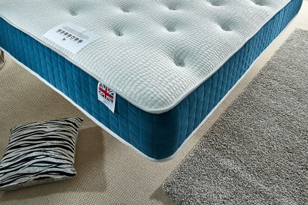 Aloe Vera Sprung Memory Foam Mattress