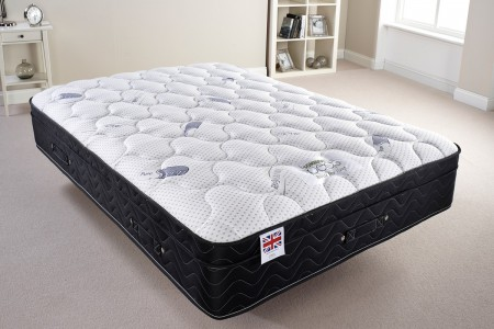 Pure Sleep Memory Foam Topper Mattress