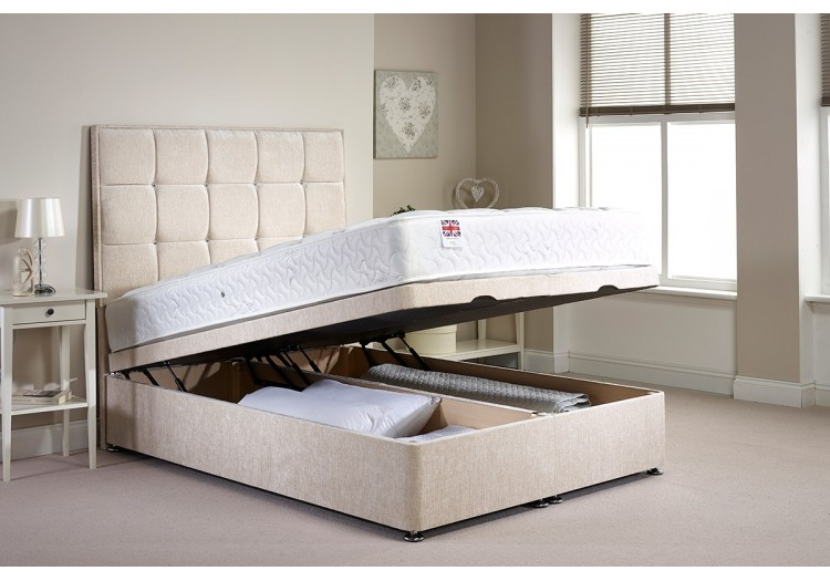 Miraculous Single Appian Foot End Opening Ottoman Bed Ocoug Best Dining Table And Chair Ideas Images Ocougorg