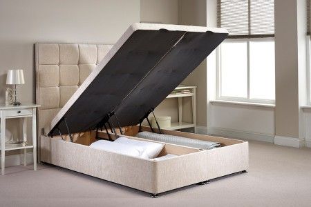 Small Single Appian Foot End Opening Ottoman Bed
