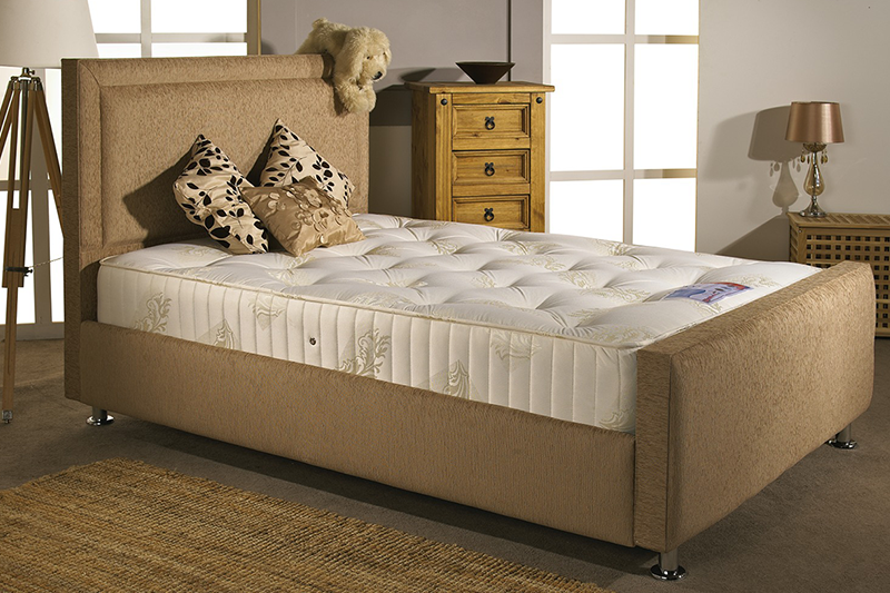 full divan with headboard and footboard