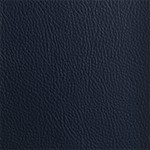 Faux Leather Navy Blue