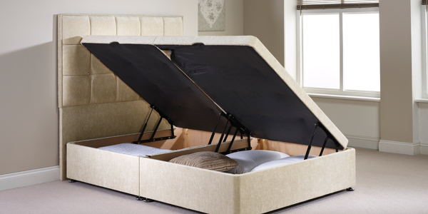Ottoman beds: a traditional solution to modern storage problems
